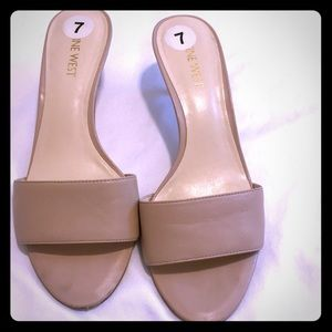 Shoes - Nude mules